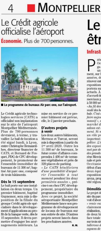 AIR PARC 1-MIDI LIBRE-Signature bail CATS-04 04 2019