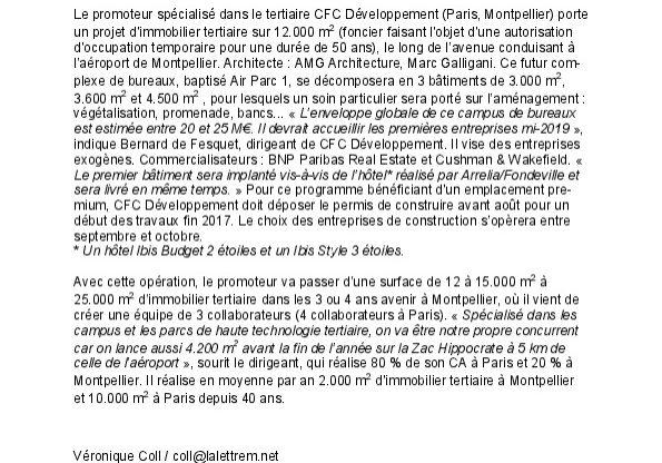 2017-07-18 - Montpellier - Lettre m2 -Campus bureaux 12000m2-thumbnail